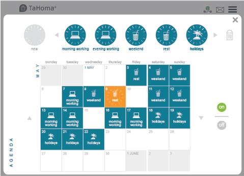 Tahoma kalendarz